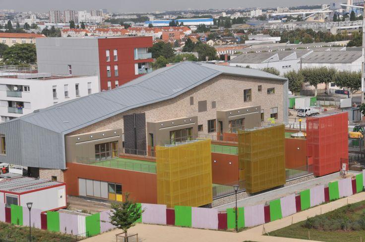CONSTRUCTION DES CRÈCHES BALZAC -  Vitry-Sur-Seine (94) - MO: VILLE DE VITRY SUR SEINE - Architecte: Ville de Vitry Sur Seine - Photographe: NR - NF HQE Bâtiments Tertiaires - Niveau HQE Excellent