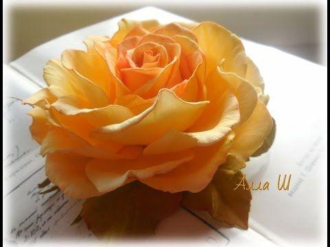 Здравствуйте дорогие подписчики и гости канала! В этом мастер классе вы научитесь делать розу с плоским основанием из иранского фоамирана. Всем удачи!