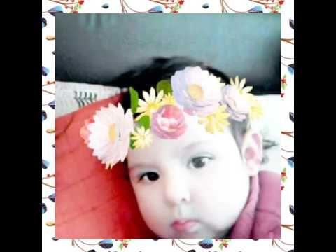 La bebé más hermosa y Feliz!!