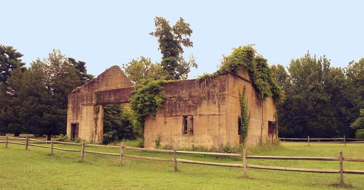 The Silent Ruins and Empty Rooms of Atsion  Written by NJ Historian     A once-thriving community, today Atsion in Shamong Township is nothi...