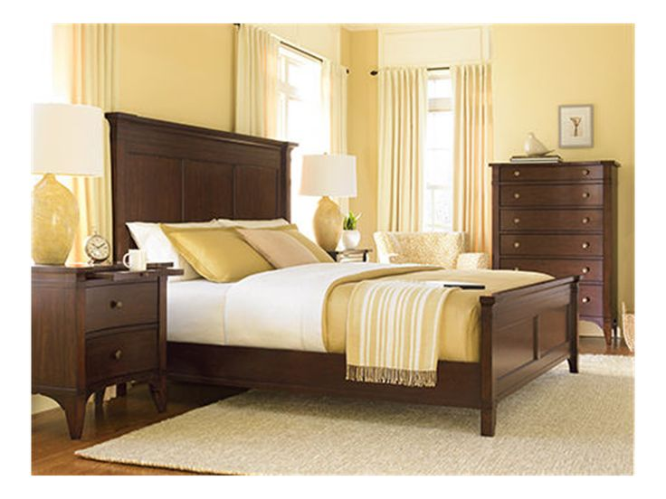 Hooker furniture bedroom hooker furniture pinterest for Places to get bedroom sets
