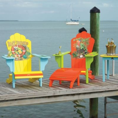 Margaritaville Outdoor Adirondack Chairs SO FUN!
