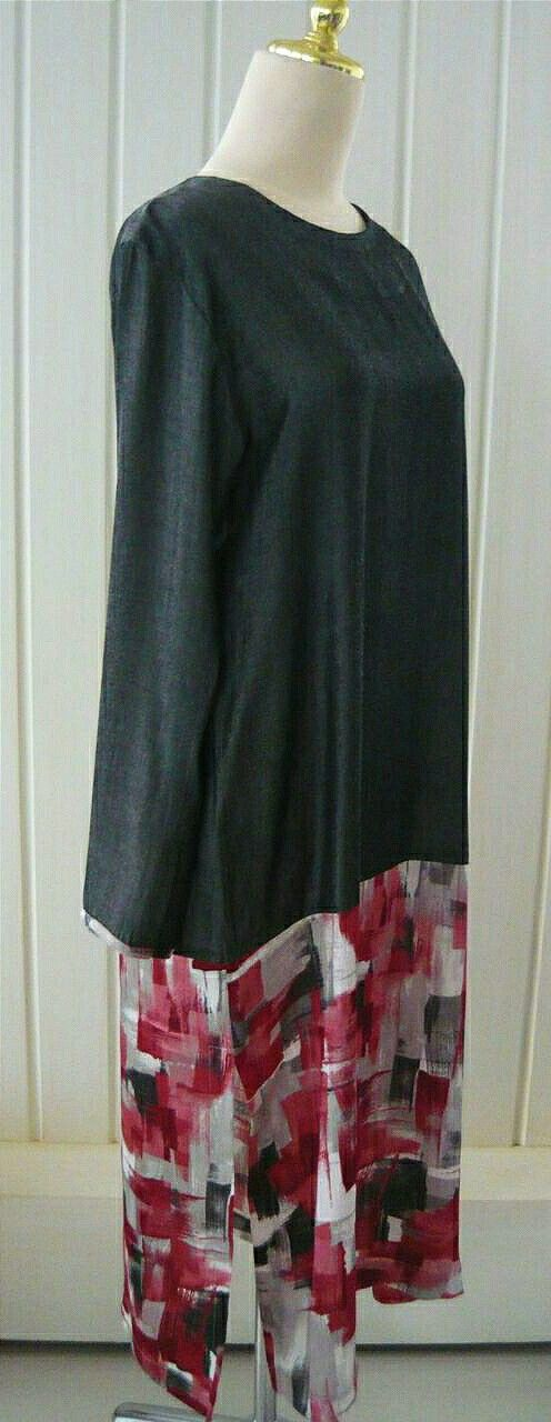 Long tunic from sandywest. IG @sandywestshawl