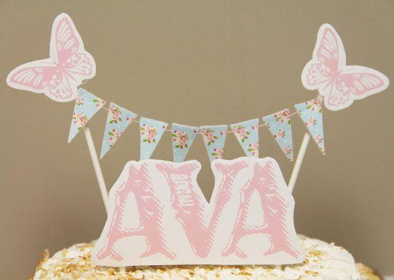 Shabby Chic Cake Bunting