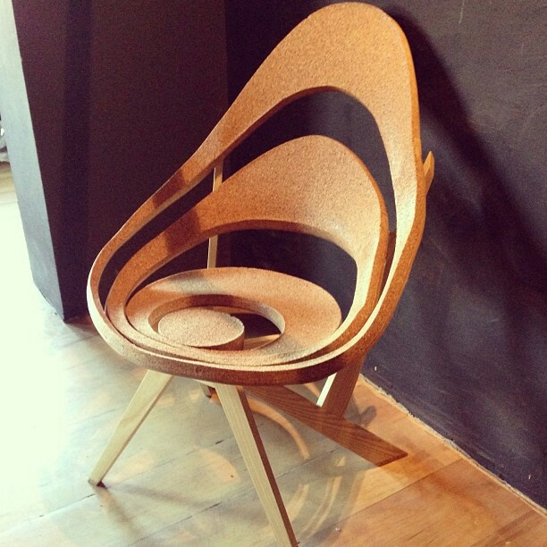 Cork Chair   Margo Angelopoulos