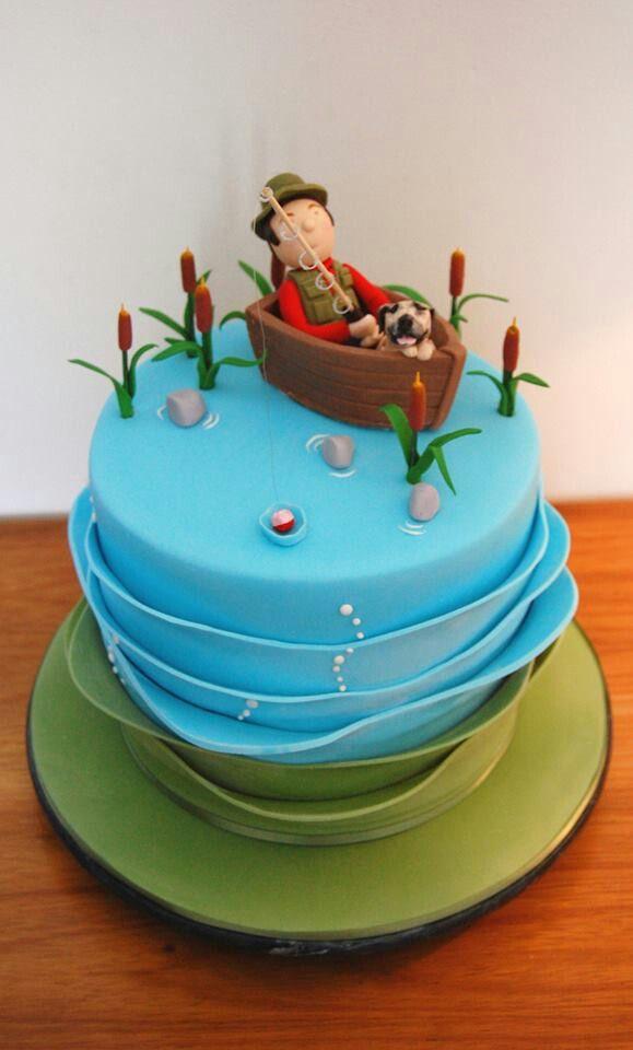 Fisherman cake.