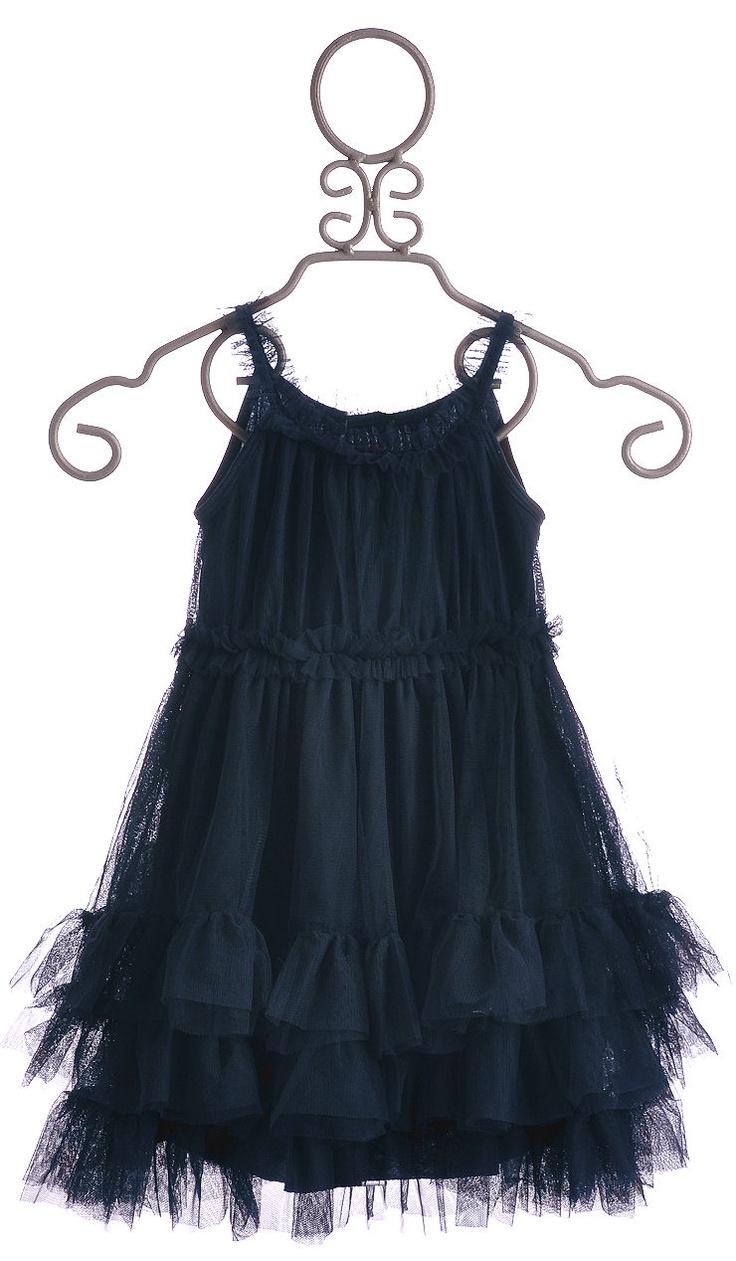 Navy Blue Girls Dress