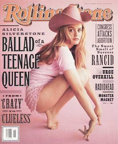 Alicia Silverstone. Rolling Stone Sept. 1995