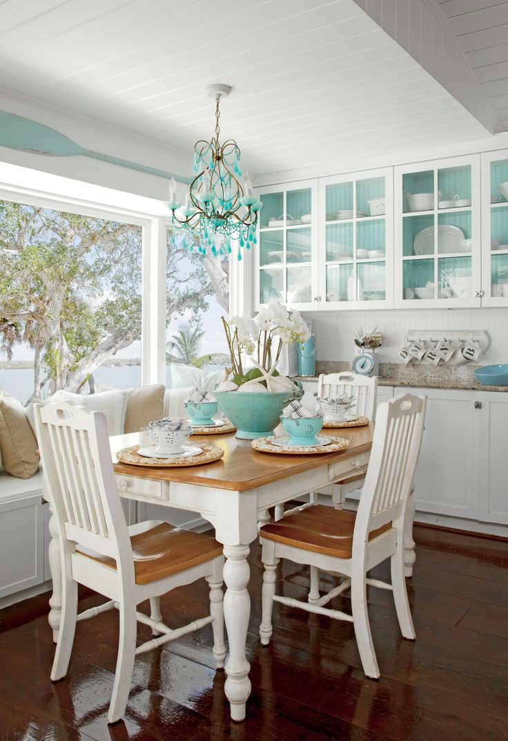 Casual dining room ideas round table - 7 Steps To Casual Beach Decor