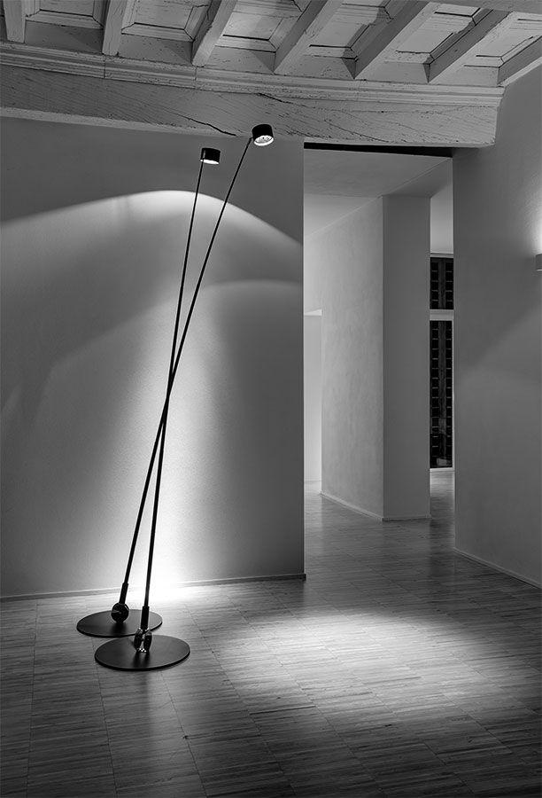 Lighting Design // oversized tall floor lamp // fausto mazza / Studio