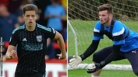 Forest Green Rovers sign Harry Pickering and Jack Fitzwater