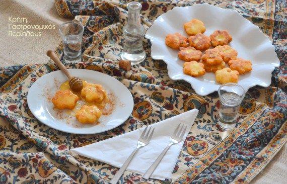Πανεύκολα μυζηθροπιτάκια τηγανιού χωρίς φύλλο – Κρήτη: Γαστρονομικός Περίπλους