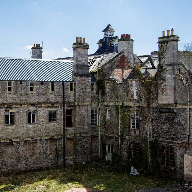 Alternative Exterior #abandoned #asylum...