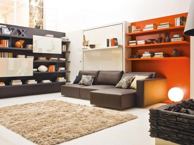 Clei Furniture Also Brown Shag Carpet Plus Brown Leather Sofa Beds Ideas