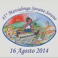 45° Marcialonga Sovana Sorano 16 Agosto 2014 Semicompetitiva di Km 9,600. Partenza ore 18:30 dalla Piazza di #Sovana e arrivo a #Sorano