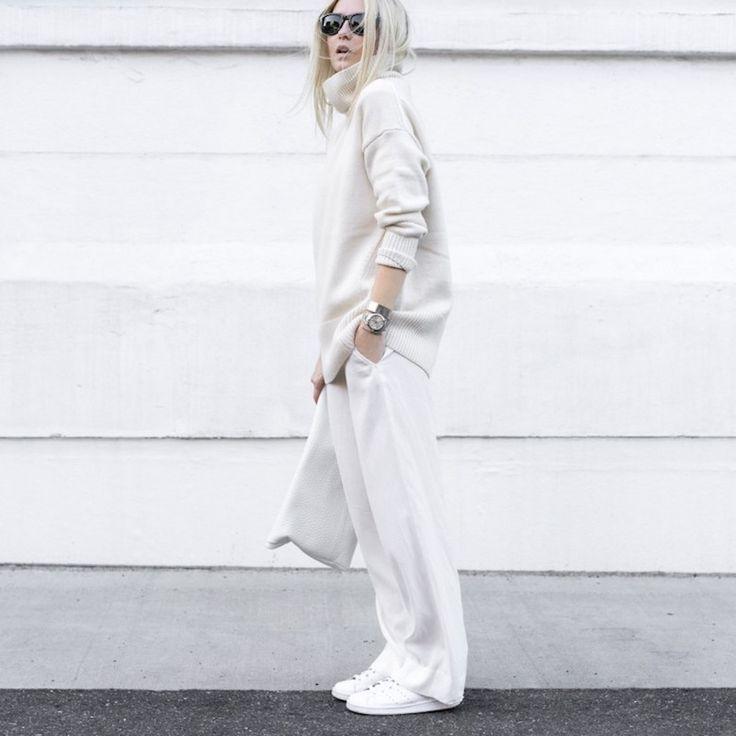 WINTER WHITE - Style magazine | Škola stylu BACKSTAGE