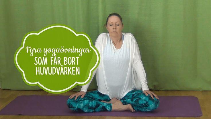 Yogaövningar för att få bort huvudvärk - Mediyoga