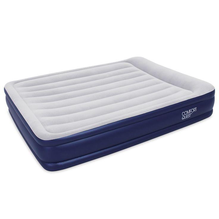 twin air mattress with pump