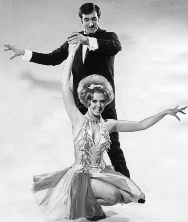 Dancing with the Stars judge Len Goodman with his first wife and champion dancing partner Cherry Kingston