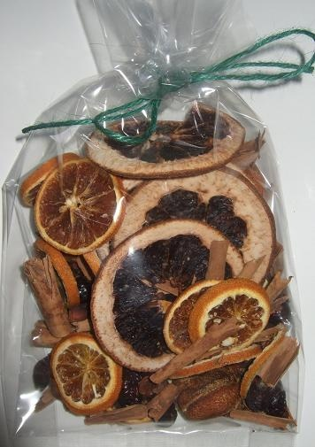Homemade Potpourri The Contents Include A Whole Orange And