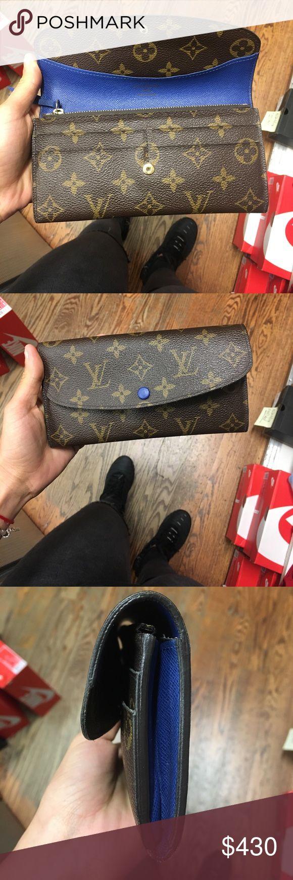 "Original Louis Vuitton Wallet ""Emilie"" Original Monogram Logo 4 credit card slots, 1 interior compartment for bills, 2 interior compartments for id Bags Wallets"