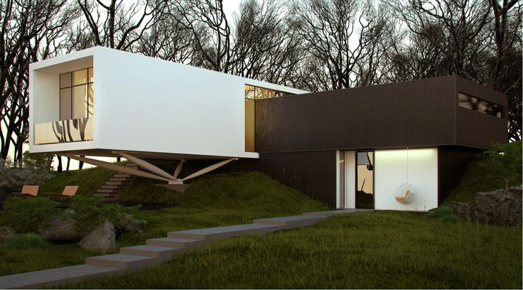 Intersection - Architecture from the Sergey Makhno – mahno.com.ua