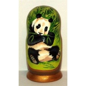 PETE PANDA for $69.95 only! #russiandolls #panda