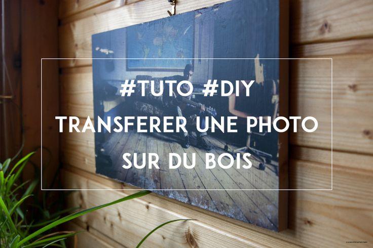 #tuto #diy Comment transférer une photo sur le bois?
