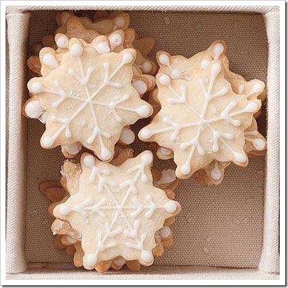 20 christmas cookie recipes: Holiday, Christmas Cookie Recipes, Christmas Cookies, Shortbread Recipe, Cookie Swap, Snowflakes, Cookie Idea, Snowflake Cookies