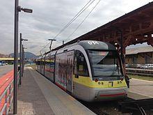 Tranvia Bergamo-Albino - Wikipedia