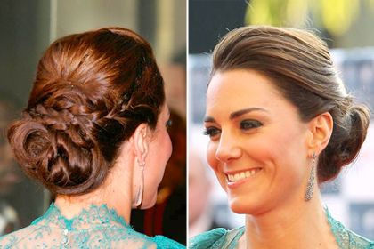 Kate Middleton - Low braided bun #hair: Bridesmaid Hair, Kate Middleton, Low Braids, Hair Style, Summer Hairstyles, Braids Low Buns Hairstyles, Kate Updo, Braids Buns, Kate Fashion