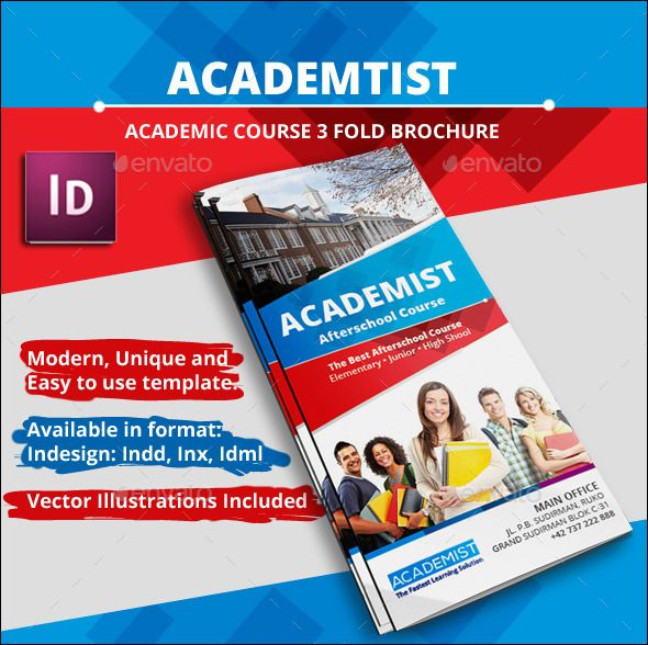 Academic Education A4 Tri fold Brochure