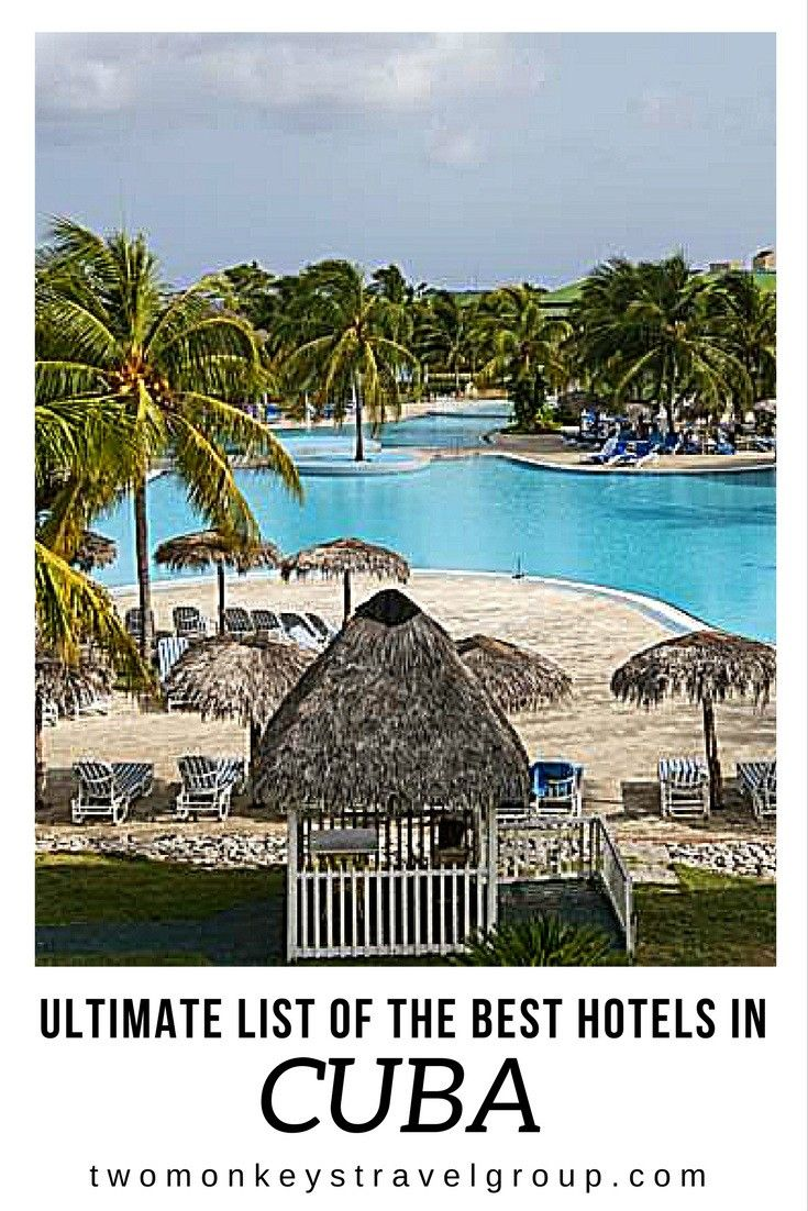 Ultimate List Of The Best Hotels In Cuba Havana And All