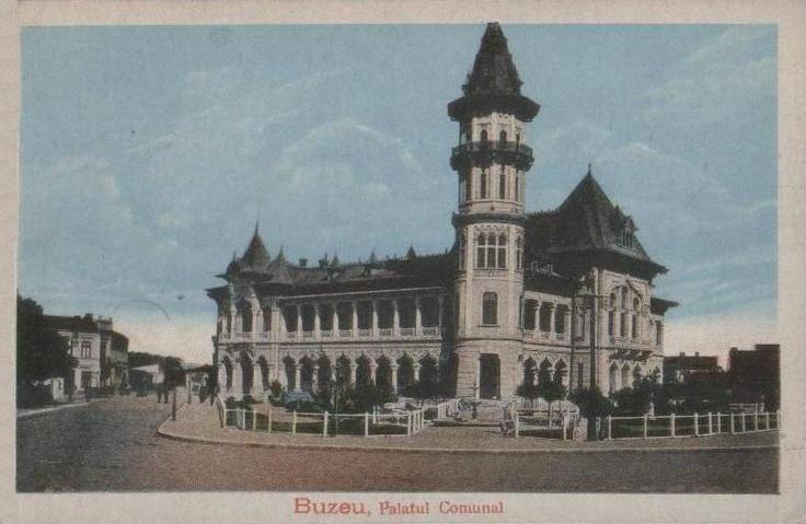 Buzau, Palatul Comunal anii '20
