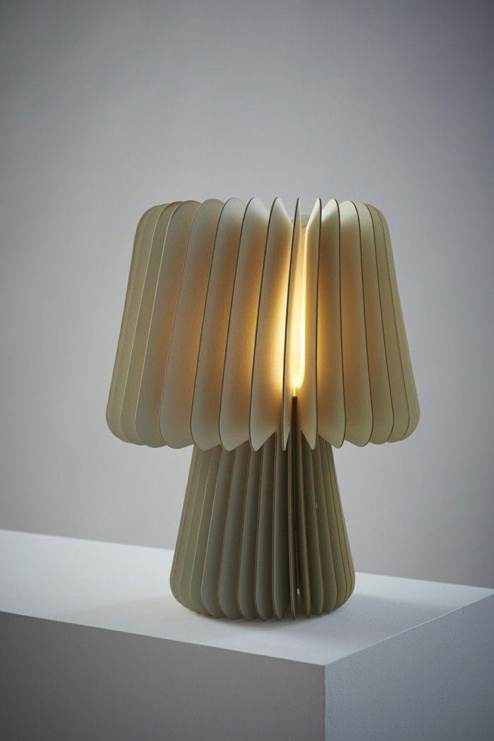 Designer lights soft decorative cream