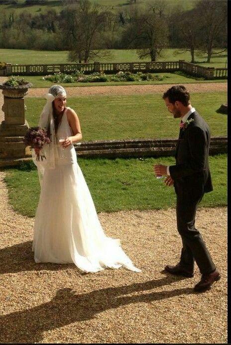 Jamie Dornan and Amelia Warner wedding