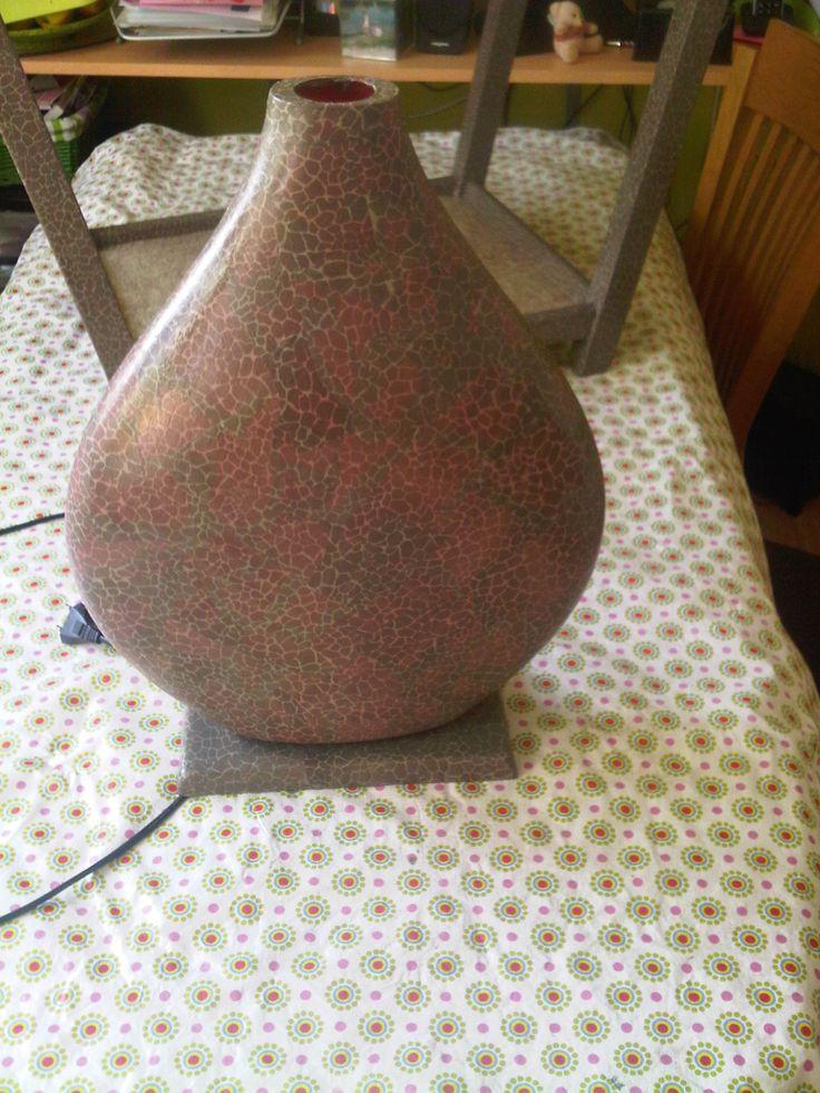 Lamp in wording