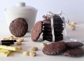 Cucinare che Passione: Cookies al cioccolato con mandorle