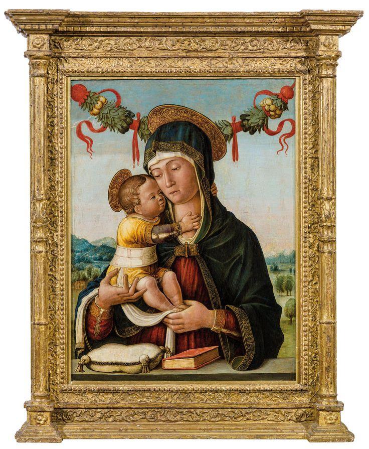 Jacopo da Montagnana madonna col bimbo