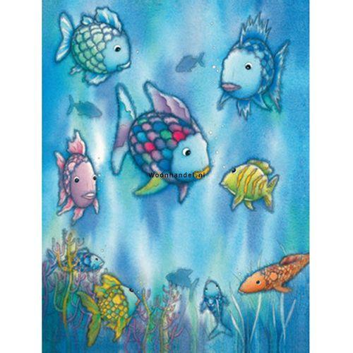 Fotobehang 426 The Rainbow Fish Ideal Decor Vissen - Woonhandel