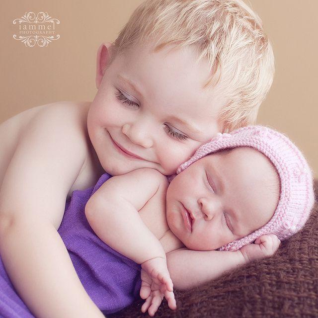 siblings. #newborn #photography