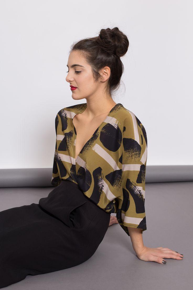 AH/OK Oliva - Silk Kimono