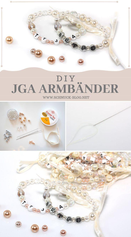 Stellen Sie selbst DIY JGA-Armbänder her   – Kreative Blogger – Alles rund um DIY, Geschenke, Illustration & Deko… – Gruppenboard