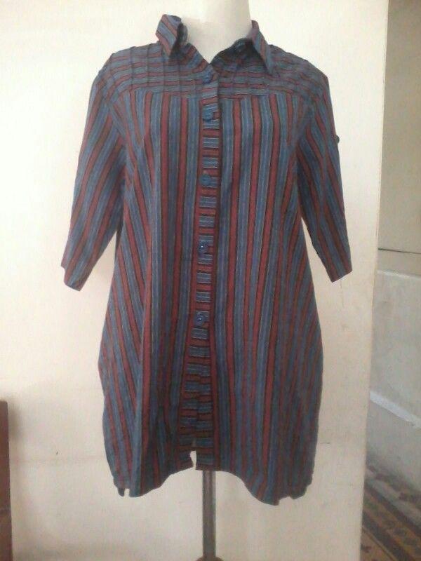 Batik lurik traditional, fit M to L, direct wa 0812775835