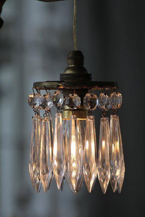 Beautiful little chandelier,