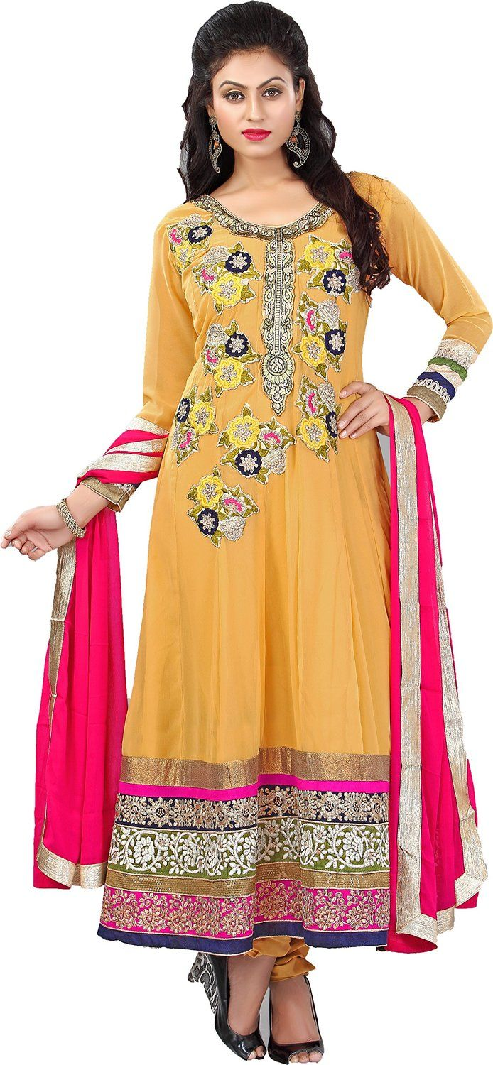 17 Best images about dress material on Pinterest   Salwar suits ...