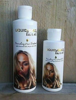 Nourishing Hair Treatment Coconut Oil Argan Oil Shea Oil Liquid Gold Hair Oil