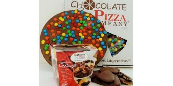 Enter to win a $50 Gift Certificate from the Chocolate Pizza Company for some delicious treats!