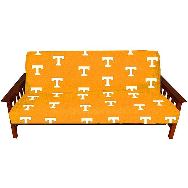College Covers Tennessee Full-size Futon Cover, Yellow (Cotton, Graphic)
