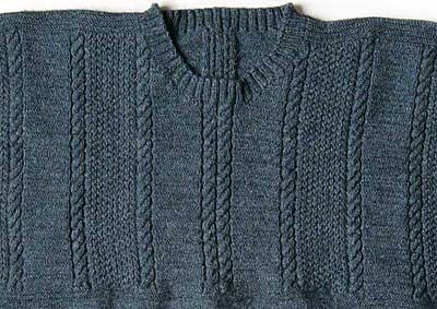 Free Knitting Patterns For Guernsey Sweaters : Patrington and Withersnea from Gansey Nation Ganseys ...